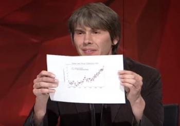 Oldham physicist Brian Cox clashes with climate change sceptic