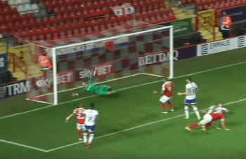 Latics pick up point at the Valley